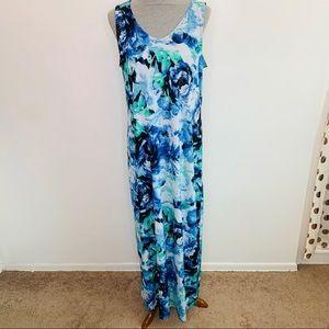 ⭐️3/$25⭐️ Apt. 9 floral watercolor maxi dress